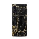 DecalGirl SGN10-BLACKGOLD Samsung Galaxy Note 10 Skin - Black Gold Marble (Skin Only)
