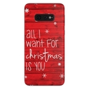 DecalGirl SGS10E-ALLIWANT Samsung Galaxy S10e Skin - All I Want (Skin Only)