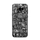 DecalGirl SGS8P-DISTACTBW Samsung Galaxy S8 Plus Skin - Distraction Tactic B&W (Skin Only)
