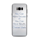 DecalGirl SGS8P-EXCUSE Samsung Galaxy S8 Plus Skin - Excuses or Results (Skin Only)