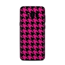 DecalGirl SGS8P-HTOOTH-PNK Samsung Galaxy S8 Plus Skin - Pink Houndstooth (Skin Only)