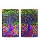 DecalGirl SGTA9-SGTREE Samsung Galaxy Tab A 2019 Skin - Stained Glass Tree (Skin Only)