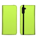 DecalGirl SN10FC-SS-LIM Samsung Galaxy Note 10 Folio Case - Solid State Lime