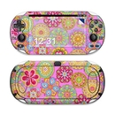 DecalGirl SPSV-BRFLWRS Sony PS Vita Skin - Bright Flowers (Skin Only)