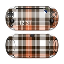 DecalGirl SPSV-PLAID-CPR Sony PS Vita Skin - Copper Plaid (Skin Only)