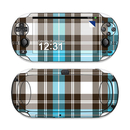 DecalGirl Sony PS Vita Skin - Turquoise Plaid (Skin Only)