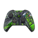 DecalGirl XBOC-ABST-GRN Microsoft Xbox One Controller Skin - Emerald Abstract (Skin Only)