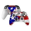 DecalGirl XBOC-FLAG-PUERTORICO Microsoft Xbox One Controller Skin - Puerto Rican Flag (Skin Only)