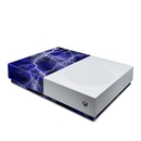 DecalGirl XBOD-APOC-BLU Microsoft Xbox One S All Digital Edition Skin - Apocalypse Blue (Skin Only)