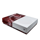 DecalGirl XBOD-APOC-RED Microsoft Xbox One S All Digital Edition Skin - Apocalypse Red (Skin Only)