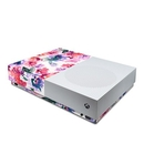 DecalGirl XBOD-BLURREDFLOWERS Microsoft Xbox One S All Digital Edition Skin - Blurred Flowers (Skin Only)