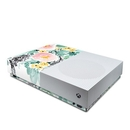 DecalGirl XBOD-BLUSHEDFLOWERS Microsoft Xbox One S All Digital Edition Skin - Blushed Flowers (Skin Only)