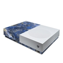 DecalGirl XBOD-GOCEANMARB Microsoft Xbox One S All Digital Edition Skin - Gilded Ocean Marble (Skin Only)