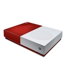 DecalGirl XBOD-REDBURST Microsoft Xbox One S All Digital Edition Skin - Red Burst (Skin Only)