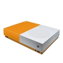 DecalGirl XBOD-SS-ORN Microsoft Xbox One S All Digital Edition Skin - Solid State Orange (Skin Only)