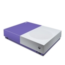 DecalGirl XBOD-SS-PUR Microsoft Xbox One S All Digital Edition Skin - Solid State Purple (Skin Only)
