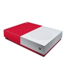 DecalGirl XBOD-SS-RED Microsoft Xbox One S All Digital Edition Skin - Solid State Red (Skin Only)