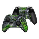 DecalGirl XBOEC-ABST-GRN Microsoft Xbox One Elite Controller Skin - Emerald Abstract (Skin Only)