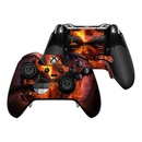 DecalGirl XBOEC-AFTERMATH Microsoft Xbox One Elite Controller Skin - Aftermath (Skin Only)
