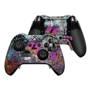 DecalGirl XBOEC-BWALL Microsoft Xbox One Elite Controller Skin - Butterfly Wall (Skin Only)