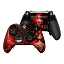DecalGirl XBOEC-GHOST-RED Microsoft Xbox One Elite Controller Skin - Ghost Red (Skin Only)