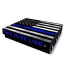DecalGirl XBOOX-THINBLINE Microsoft Xbox One X Skin - Thin Blue Line (Skin Only)