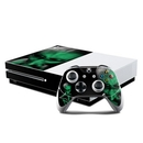 DecalGirl XBOS-ABD-GRN Microsoft Xbox One S Console and Controller Kit Skin - Abduction (Skin Only)