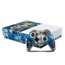 DecalGirl XBOS-ALICEVG Microsoft Xbox One S Console and Controller Kit Skin - Alice in a Van Gogh (Skin Only)