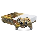 DecalGirl XBOS-APRETREAT Microsoft Xbox One S Console and Controller Kit Skin - A Peaceful Retreat (Skin Only)