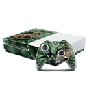 DecalGirl XBOS-BTDEER Microsoft Xbox One S Console and Controller Kit Skin - Break Through Deer (Skin Only)