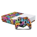 DecalGirl XBOS-CLRKIT Microsoft Xbox One S Console and Controller Kit Skin - Colorful Kittens (Skin Only)
