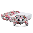 DecalGirl XBOS-KYOTOKITTY Microsoft Xbox One S Console and Controller Kit Skin - Kyoto Kitty (Skin Only)