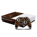 DecalGirl XBOS-LIBRARY Microsoft Xbox One S Console and Controller Kit Skin - Library (Skin Only)