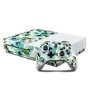 DecalGirl XBOS-PEONIES Microsoft Xbox One S Console and Controller Kit Skin - Peonies (Skin Only)