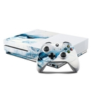 DecalGirl XBOS-POLARMRB Microsoft Xbox One S Console and Controller Kit Skin - Polar Marble (Skin Only)