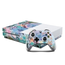 DecalGirl XBOS-TIDEPOOL Microsoft Xbox One S Console and Controller Kit Skin - Tidepool (Skin Only)