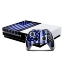 DecalGirl XBOS-USAF-FLAG Microsoft Xbox One S Console and Controller Kit Skin - USAF Flag (Skin Only)