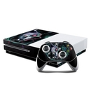 DecalGirl XBOS-WOLFSBANE Microsoft Xbox One S Console and Controller Kit Skin - Wolfsbane (Skin Only)
