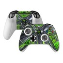 DecalGirl XBOSC-ABST-GRN Microsoft Xbox One S Controller Skin - Emerald Abstract (Skin Only)