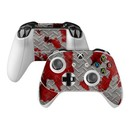 DecalGirl XBOSC-ACCIDENT Microsoft Xbox One S Controller Skin - Accident (Skin Only)