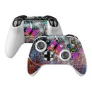DecalGirl XBOSC-BWALL Microsoft Xbox One S Controller Skin - Butterfly Wall (Skin Only)