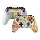 DecalGirl XBOSC-IKATF Microsoft Xbox One S Controller Skin - Ikat Floral (Skin Only)