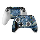 DecalGirl XBOSC-VG-SNIGHT Microsoft Xbox One S Controller Skin - Starry Night (Skin Only)