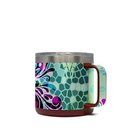 DecalGirl Y14-BFLYGLASS Yeti 14 oz Mug Skin - Butterfly Glass (Skin Only)