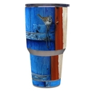 DecalGirl Y30-BLUEDOOR Yeti Rambler 30 oz Tumbler Skin - Blue Door (Skin Only)