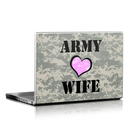 DecalGirl LS-ARMYWIFE Laptop Skin - Army Wife (Skin Only)
