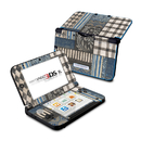 DecalGirl N3DX-CCHIC-BLU Nintendo 3DS XL Skin - Country Chic Blue (Skin Only)