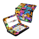 DecalGirl N3DX-CLRKIT Nintendo 3DS XL Skin - Colorful Kittens (Skin Only)