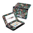 DecalGirl N3DX-CRAZYPAISLEY Nintendo 3DS XL Skin - Crazy Daisy Paisley (Skin Only)
