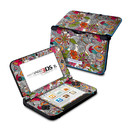 DecalGirl Nintendo 3DS XL Skin - Doodles Color (Skin Only)